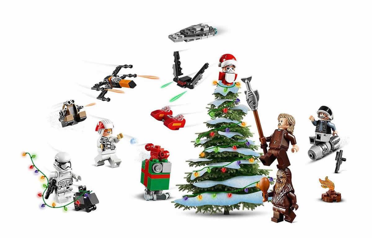 lego-starwars-adventskalender-75245-2019-inhalt-weihnachtsbaum zusammengebaut.com