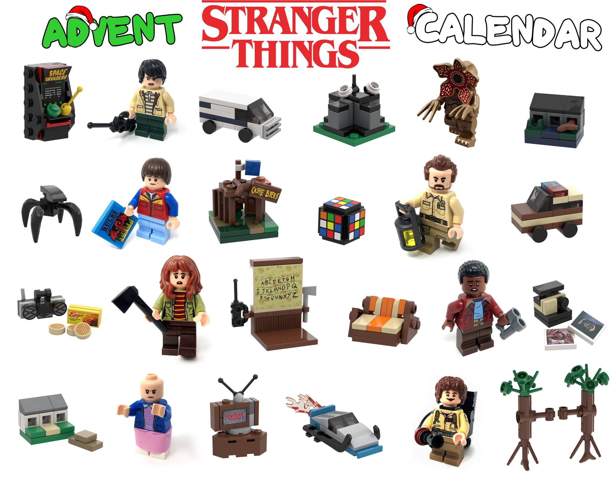lego-stranger-things-adventskalender-1 zusammengebaut.com