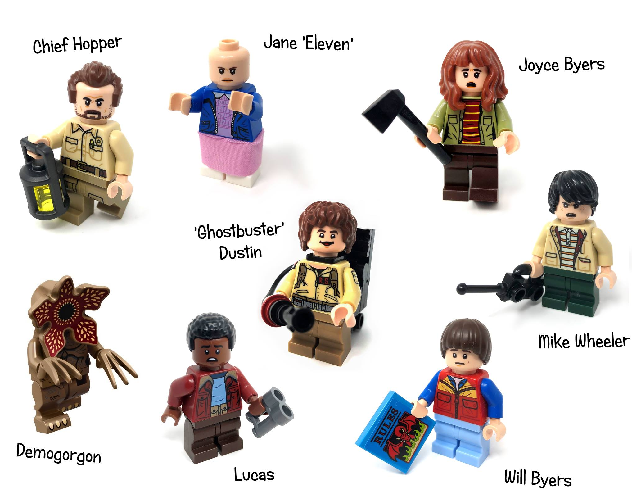 lego-stranger-things-adventskalender-figuren zusammengebaut.com