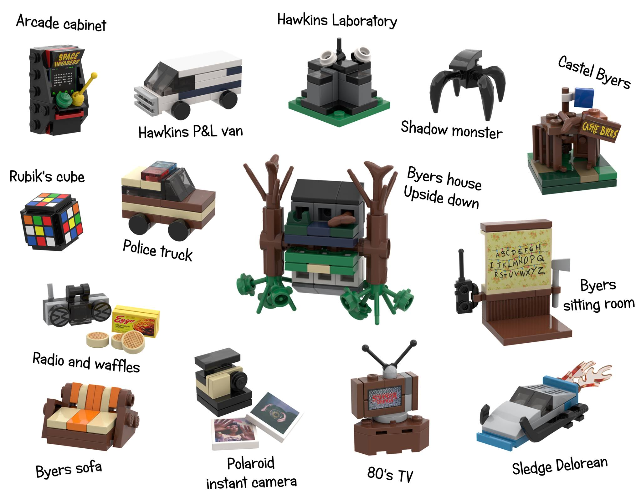 lego-stranger-things-adventskalender-namen-modelle zusammengebaut.com
