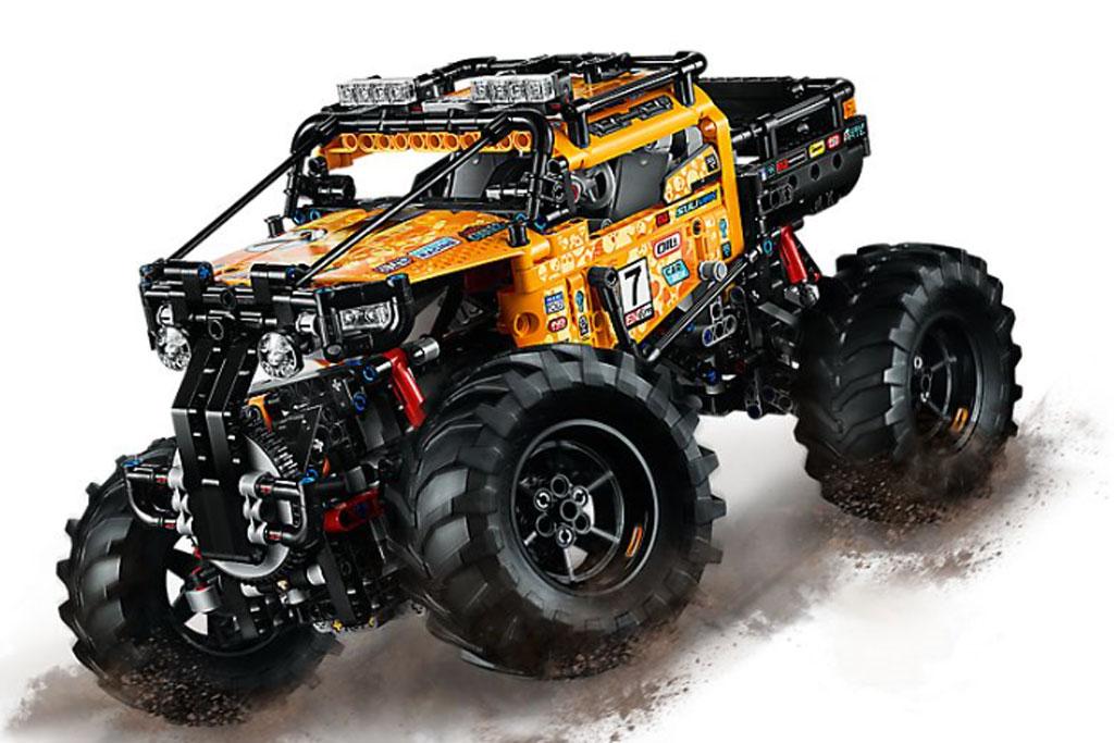 lego-technic-allrad-xtreme-gelaendewagen-42099-inhalt-2019 zusammengebaut.com