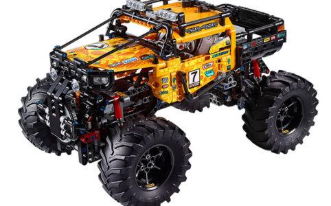 lego-technic-allrad-xtreme-gelaendewagen-42099-inhalt zusammengebaut.com