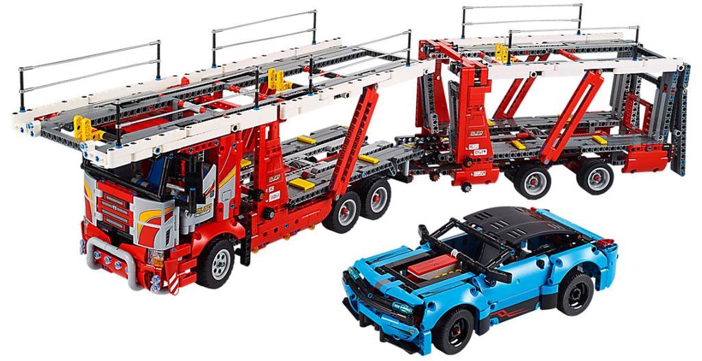 lego-technic-autotransporter-42098-inhalt-2019 zusammengebaut.com