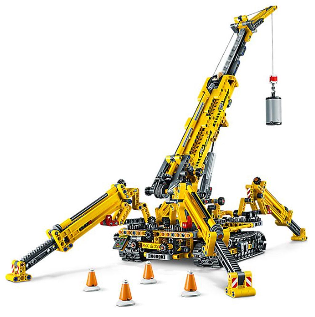 lego-technic-spinnen-kran-42097-inhalt-2019 zusammengebaut.com