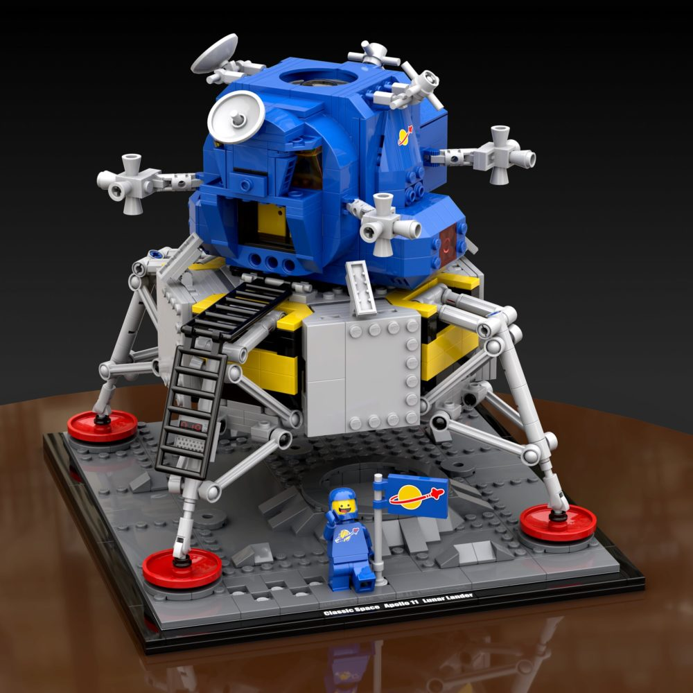 nasa-apollo-11-lander-classic-space-dallen-powell zusammengebaut.com