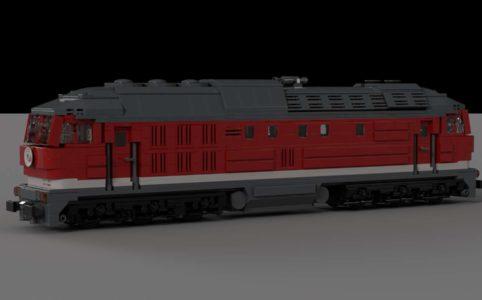 br-132-ludmilla-zug-lego-ideas zusammengebaut.com