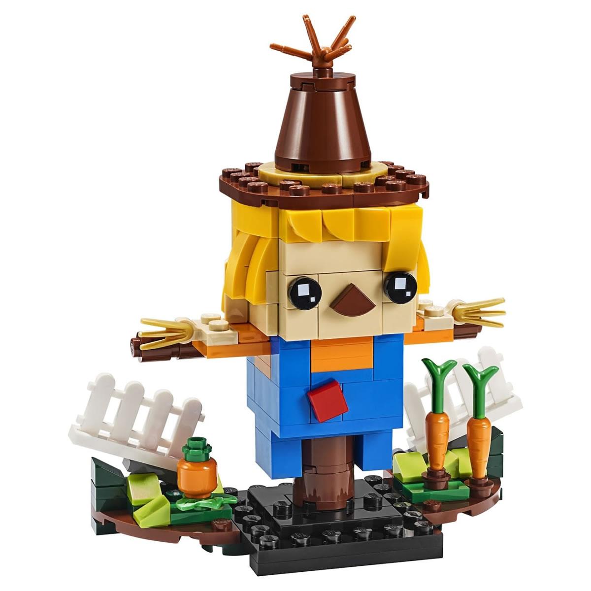 lego-brickheadz-vogelscheuche-40352-front-figur-2019 zusammengebaut.com