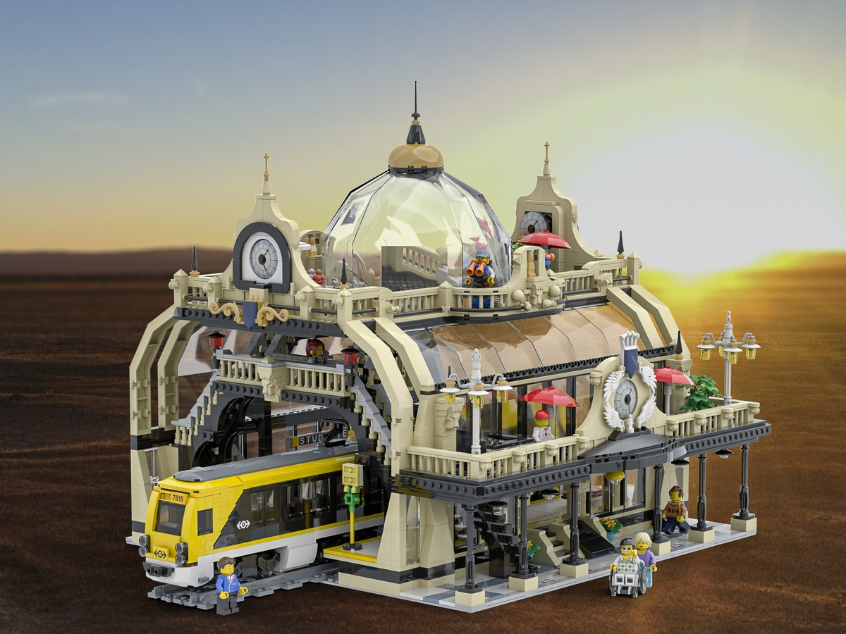 lego-ideas-the-train-station-studgate-bricky-brick zusammengebaut.com
