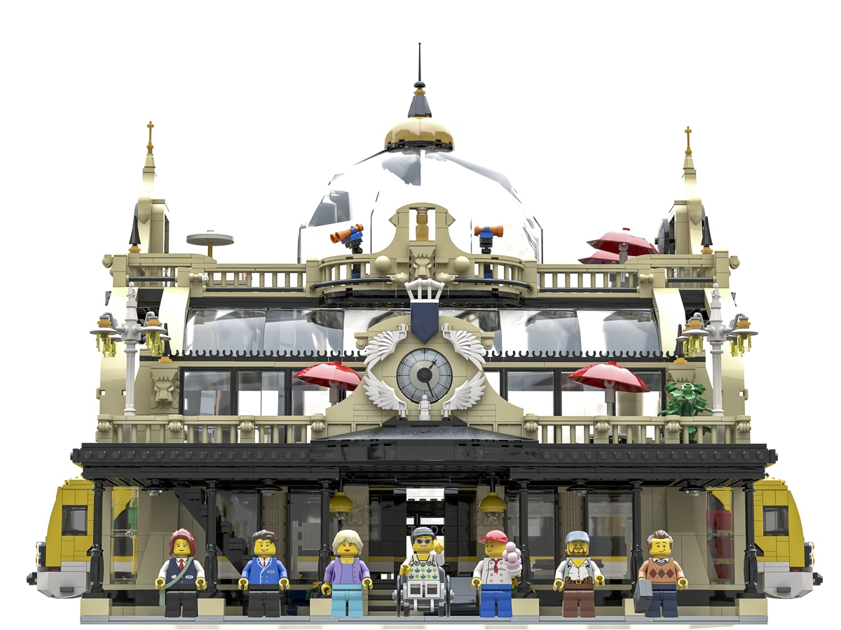 lego-ideas-the-train-station-studgate-front-bricky-brick zusammengebaut.com