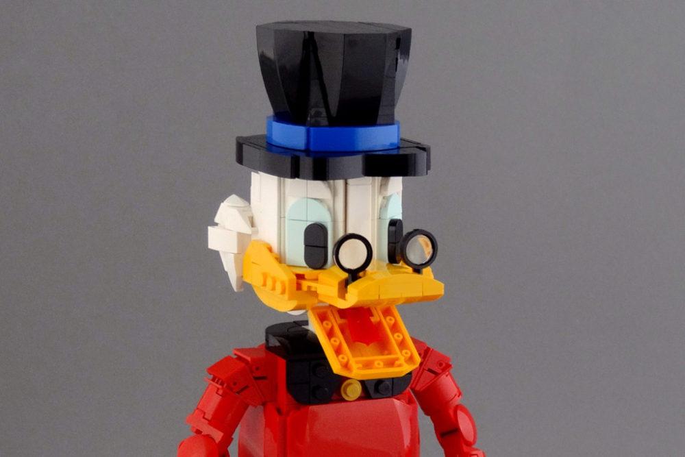 lego-moc-dagobert-duck-ausschnitt-koen-zwanenburg-flickr zusammengebaut.com