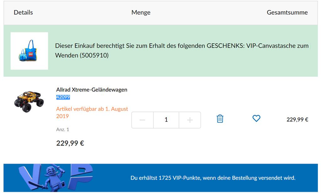 lego-vip-punkte-tasche zusammengebaut.com