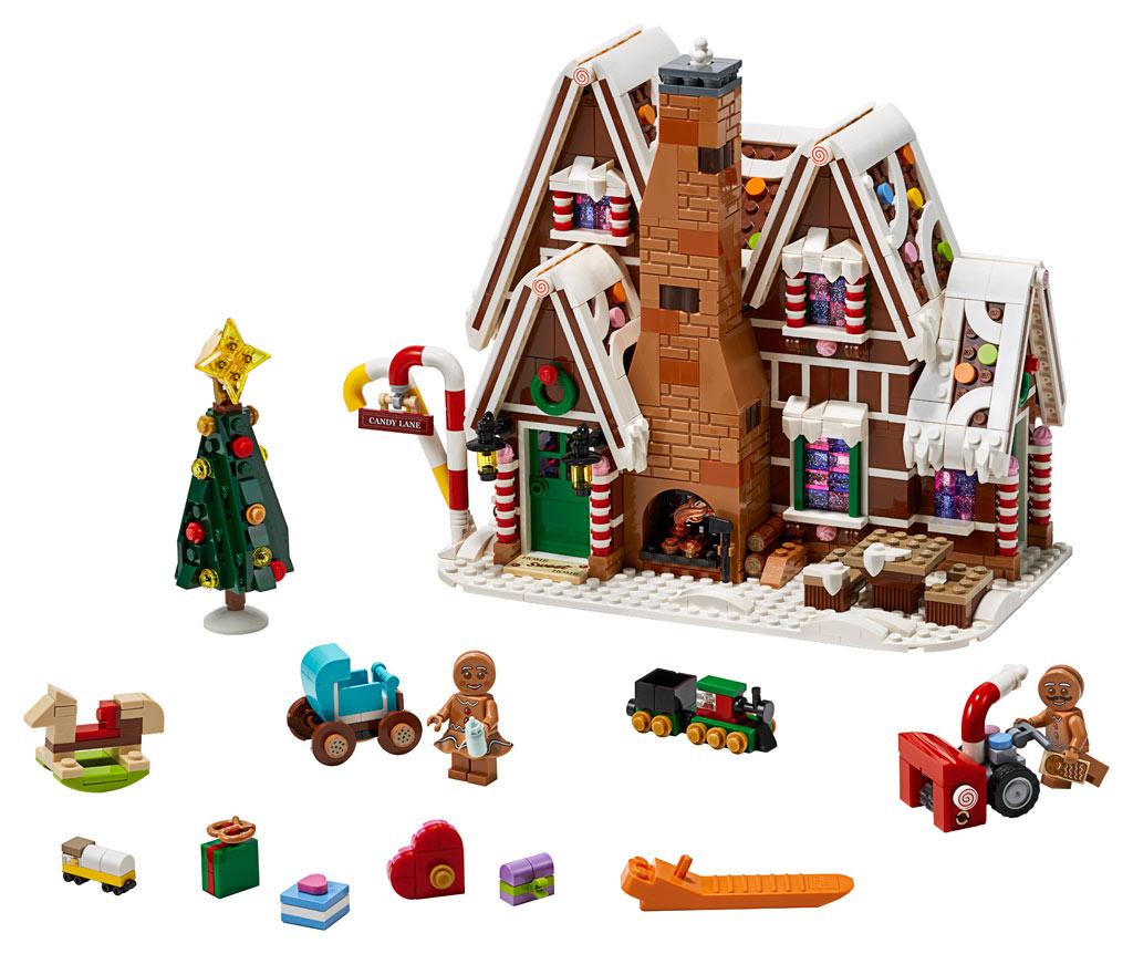 lego-creator-expert-10267-lebkuchenhaus-gingerbread-house-2019-produktansicht zusammengebaut.com