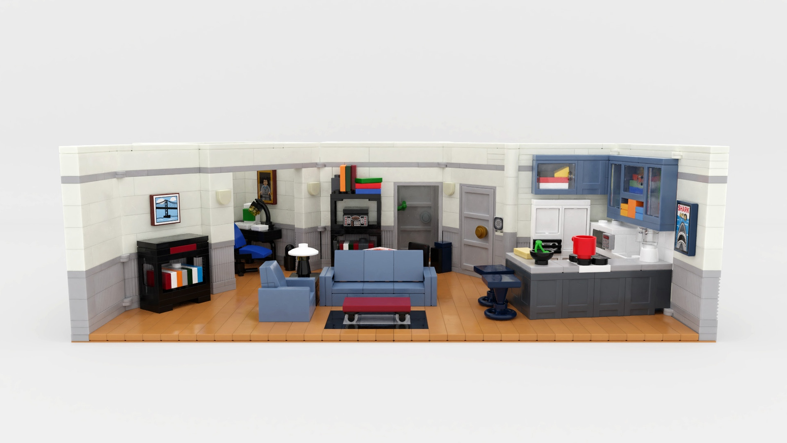 lego-ideas-seinfeld-30th-anniversary-couch-front-brent-waller zusammengebaut.com