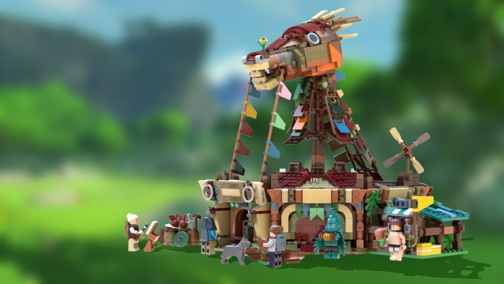 lego-ideas-the-legend-of-zelda-bothw-stables-Hanwasyellowfirst zusammengebaut.com