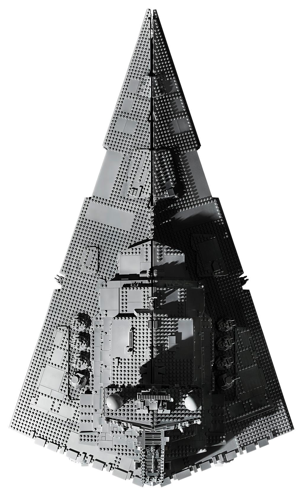 lego-star-wars-75252-ucs-imperial-star-destroyer-2019-draufsicht zusammengebaut.com
