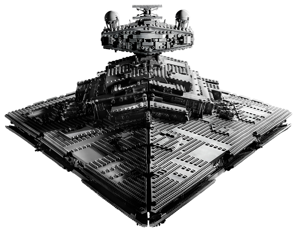 lego-star-wars-75252-ucs-imperial-star-destroyer-2019-front-view-ansicht zusammengebaut.com