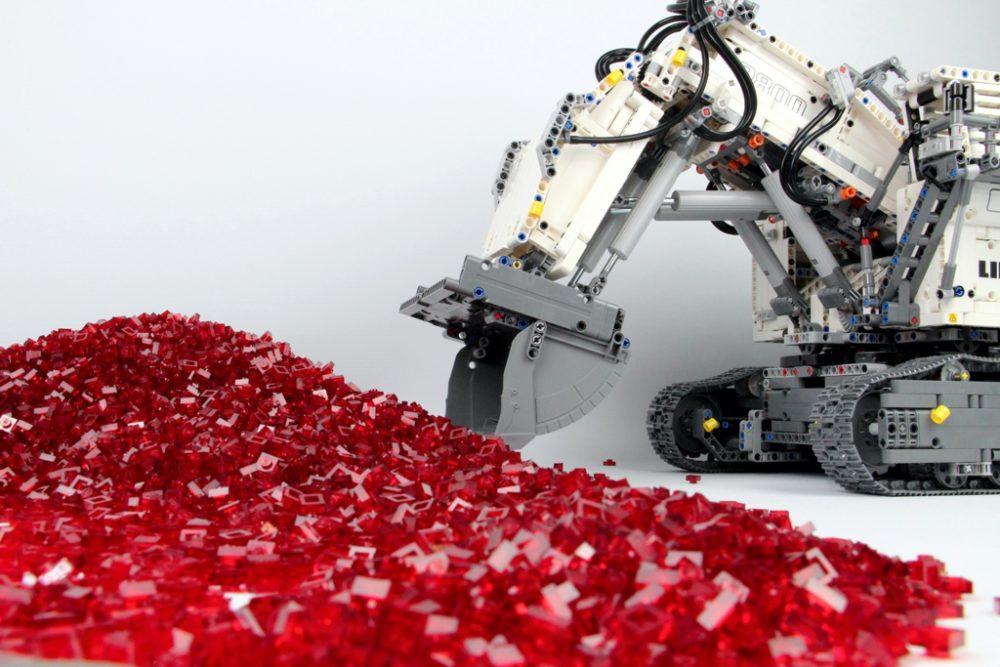 LEGO Technic Liebherr R 9800 42100: Es wird gebaggert!