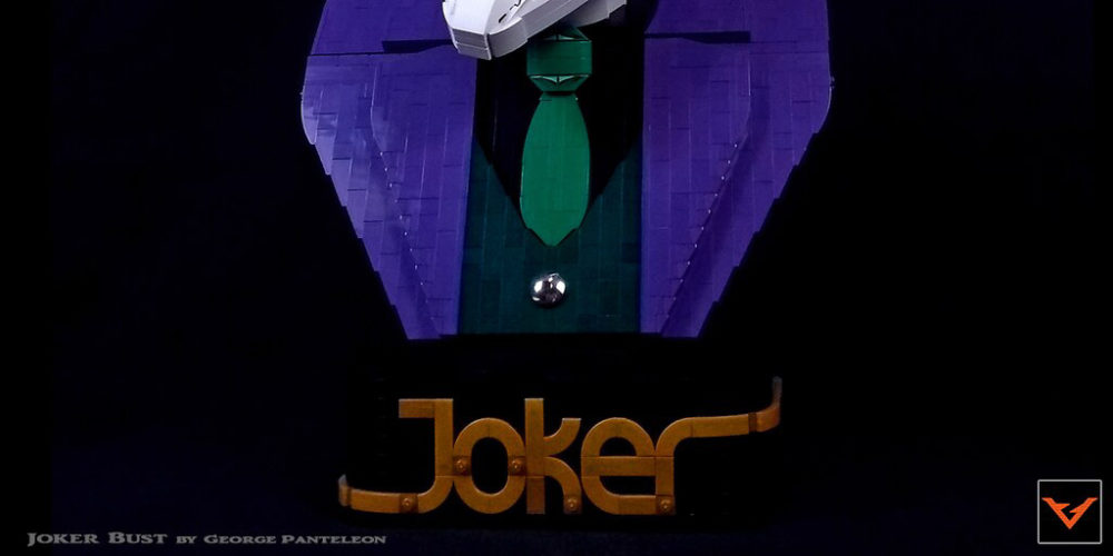 Joker Bust by George Paneleon