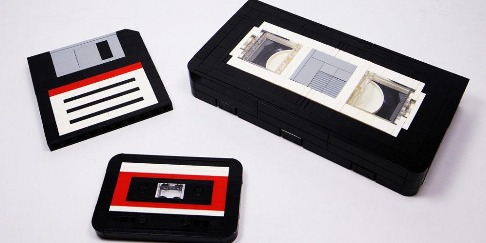 Floppydisc, Videotape, Audiotape by Chungpo Cheng