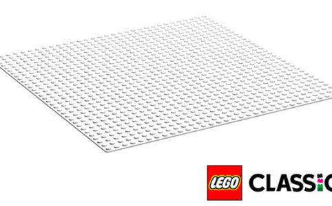 LEGO Classic 11010 Weiße Grundplatte