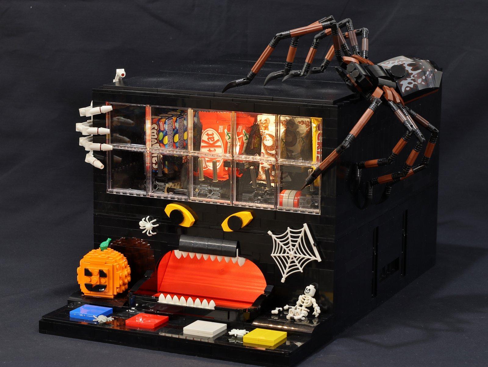 lego-schokoladen-automat-jkbrickworks zusammengebaut.com