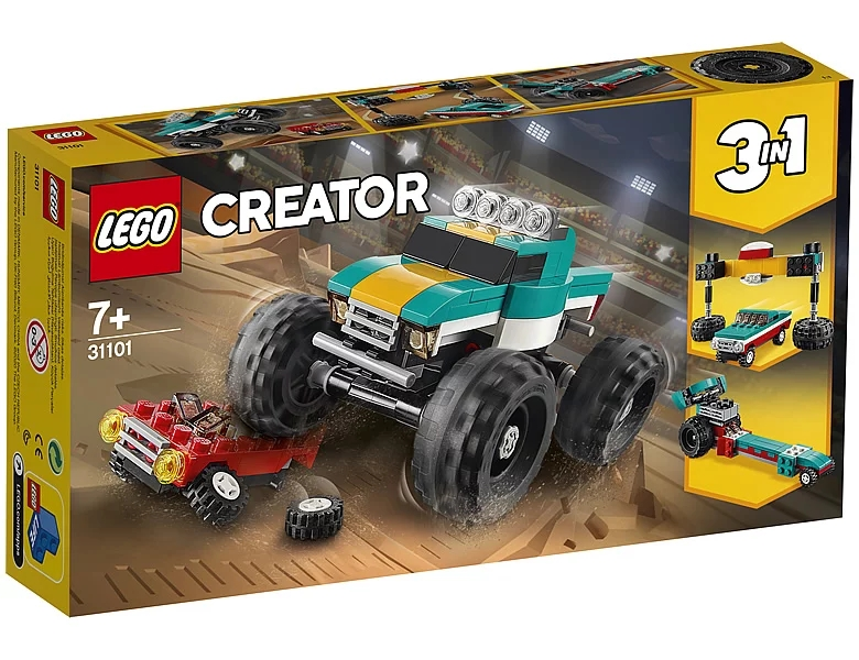 31101-lego-creator-monster-truck-box-2020 zusammengebaut.com