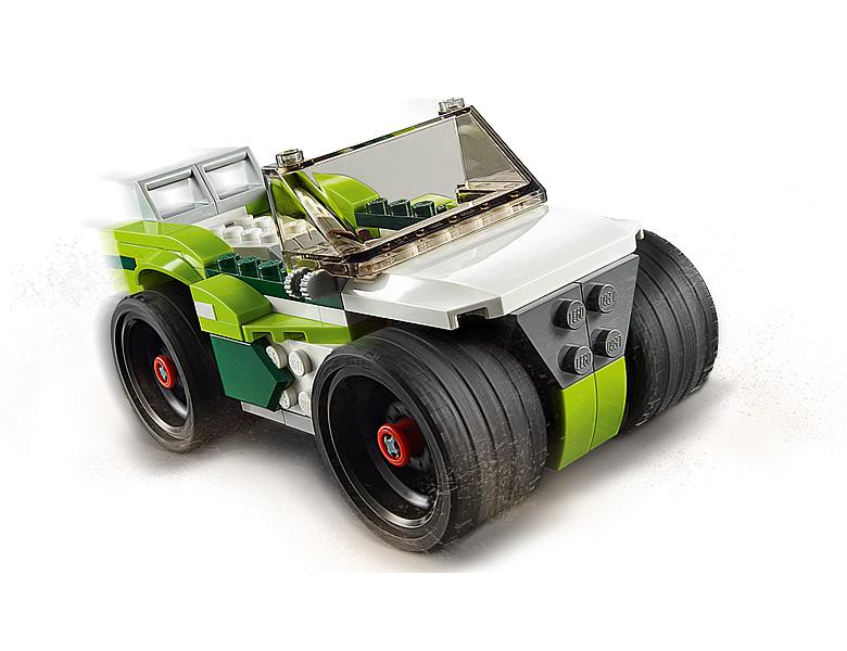 31103-lego-creator-sports-car-raketenfahrzeug-2020-inhalt-3 zusammengebaut.com