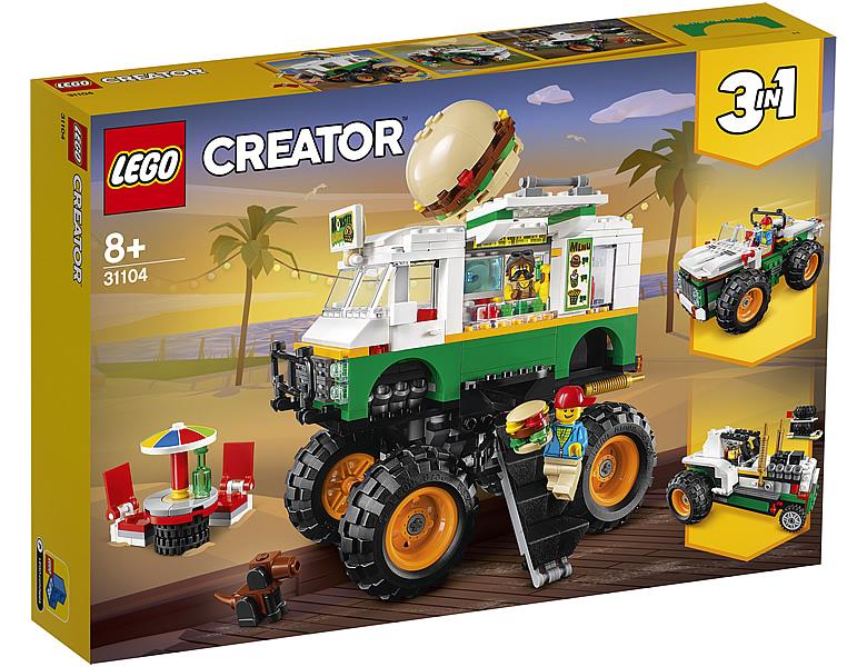 31104-lego-creator-burger-monster-truck-2020-box zusammengebaut.com