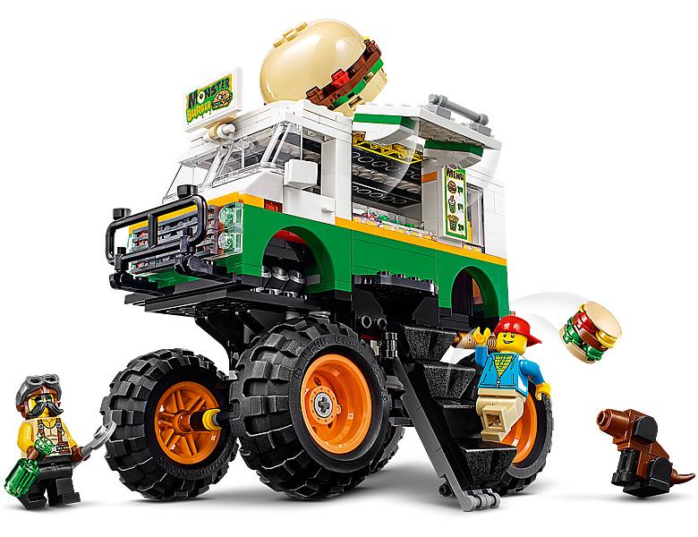 31104-lego-creator-burger-monster-truck-2020-inhalt-1 zusammengebaut.com