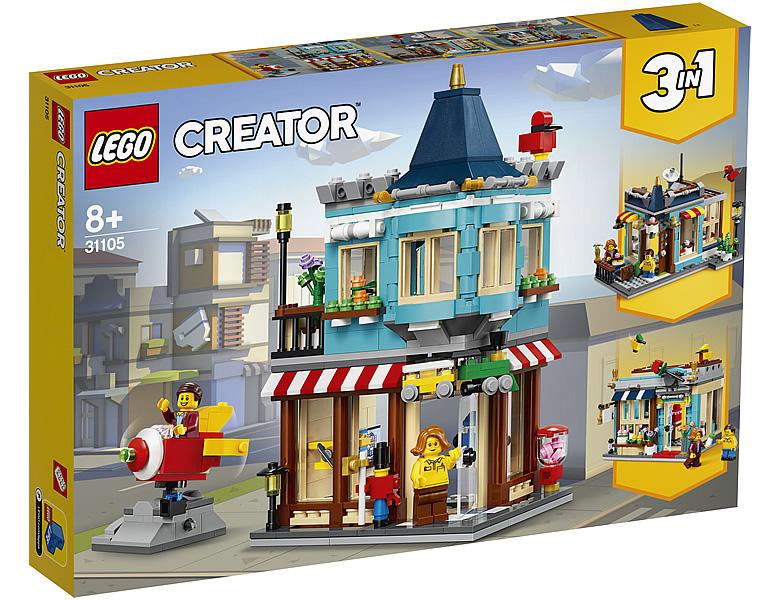 31105-lego-creator-townhouse-toy-store-stadthaus-spielzeugladen-2020-box zusammengebaut.com