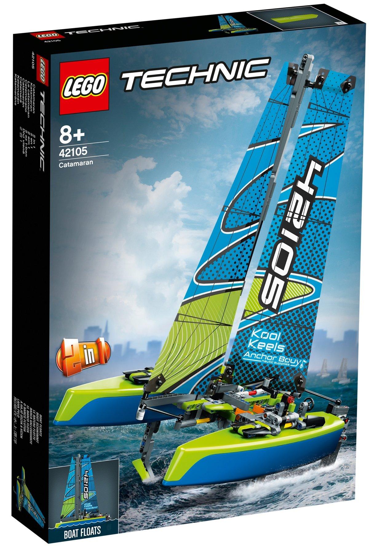 42105-lego-technic-catamaran-box-2020 zusammengebaut.com