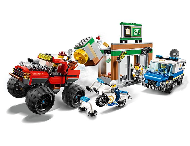 60245-lego-city-police-monster-truck-heist-inhalt zusammengebaut.com