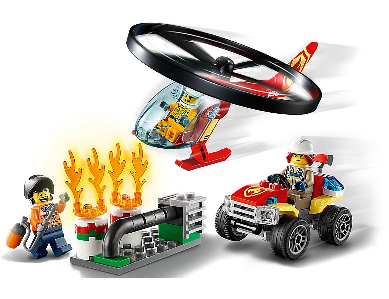 60248-lego-city-fire-response-helicopter-inhalt zusammengebaut.com