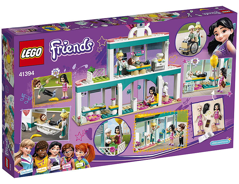 lego-friends-heartlake-city-hospital-41394-2019-box-back-krankenhaus zusammengebaut.com
