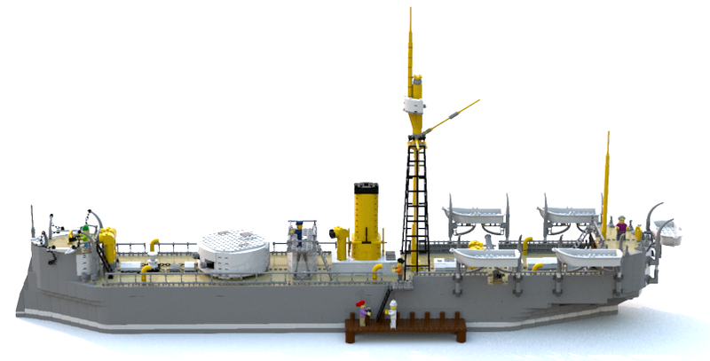 lego-ideas-the-huascar-aldrin-schiff-2 zusammengebaut.com