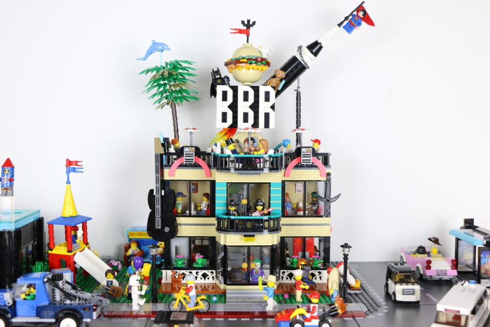 Lego Best Burger Restaurant Moc Diner Fur Die New Ukonio City