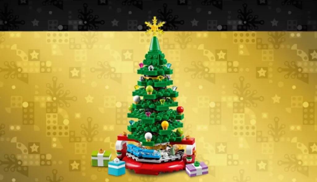 lego-seasonal-40338-weihnachtsbaum-gratis-beigabe-2019-black-friday zusammengebaut.com