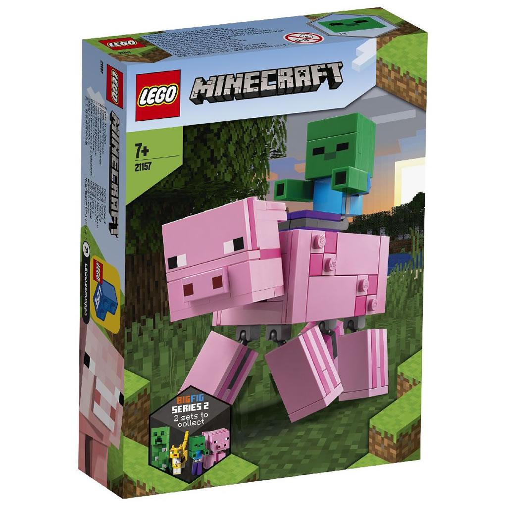 21157-lego-minecraft-pig-sombie-baby-2020-box zusammengebaut.com