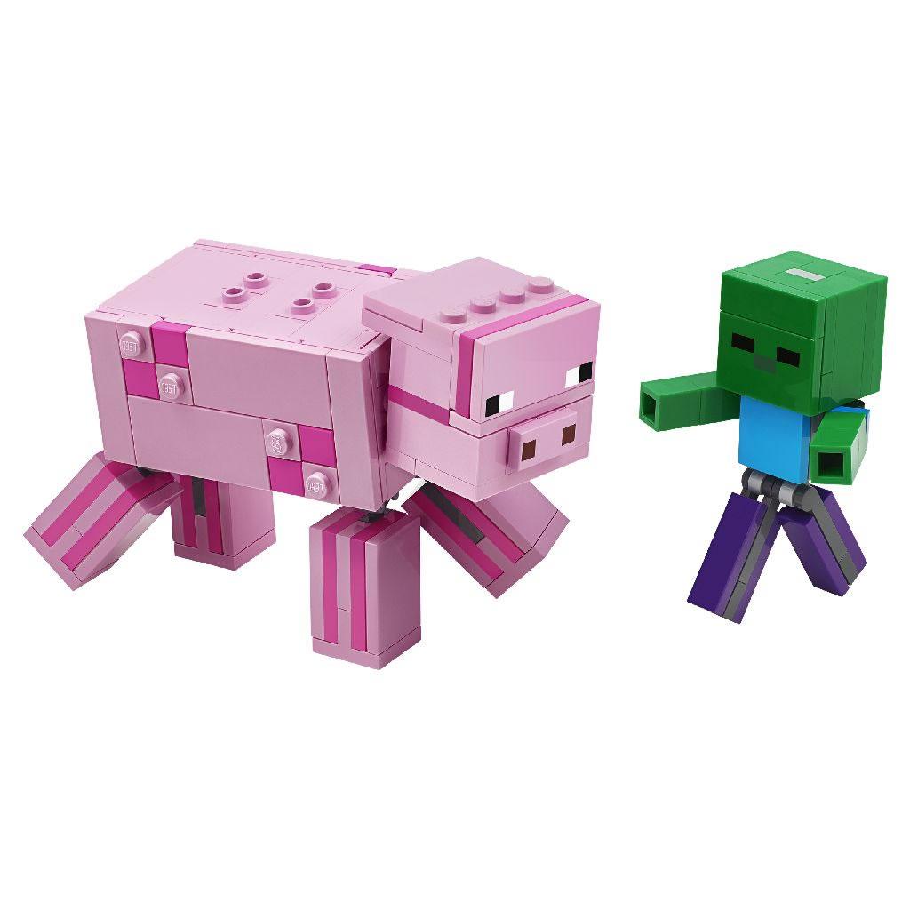 21157-lego-minecraft-pig-sombie-baby-2020-inhalt zusammengebaut.com