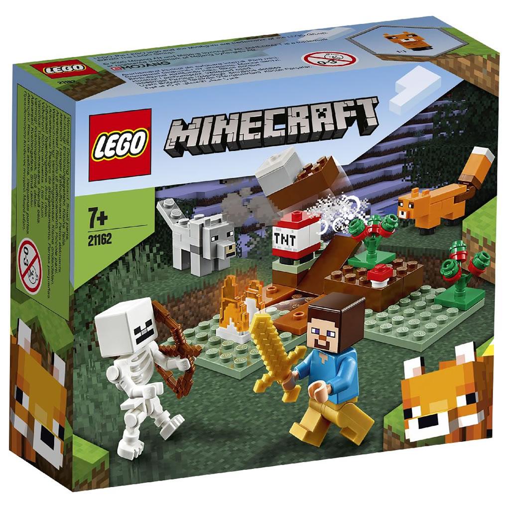 21162-lego-minecraft-taiga-adventure-box-2020 zusammengebaut.com