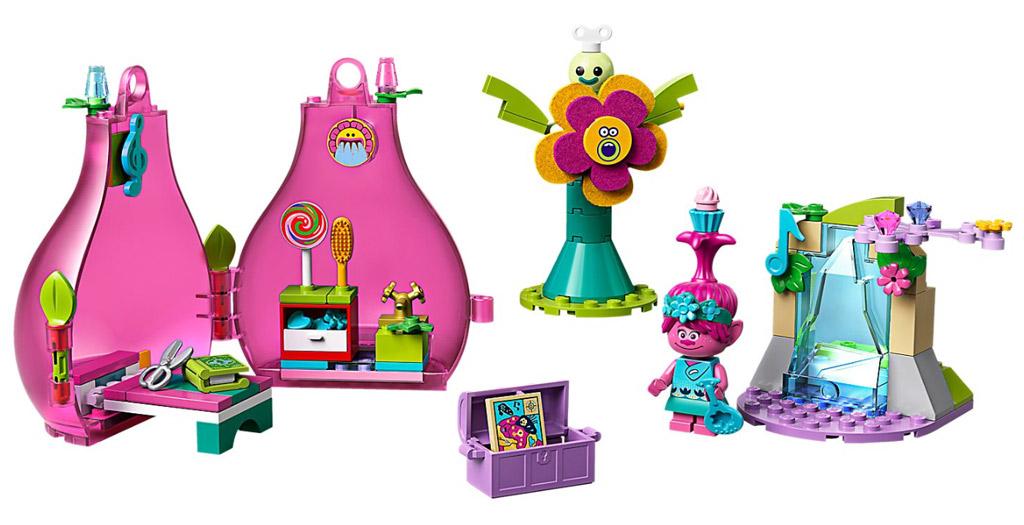 41251-lego-trolls-poppy-rod-box-2020-inhalt zusammengebaut.com