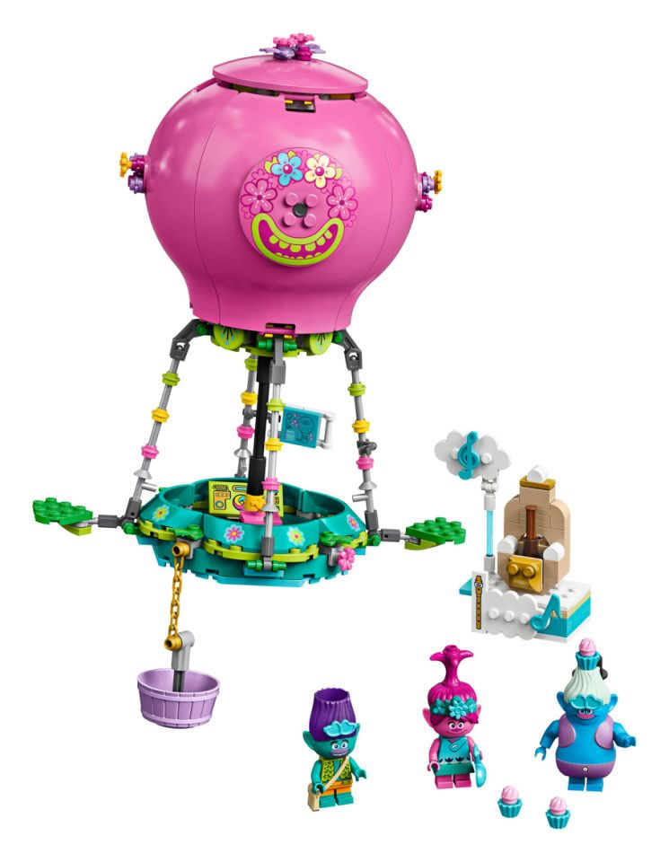 41252-lego-trolls-poppy-air-balloon-adventure-inhalt-2020 zusammengebaut.com