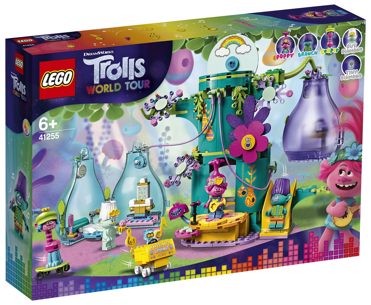 41255-lego-trolls-pop-village-celebration-box-2020 zusammengebaut.com