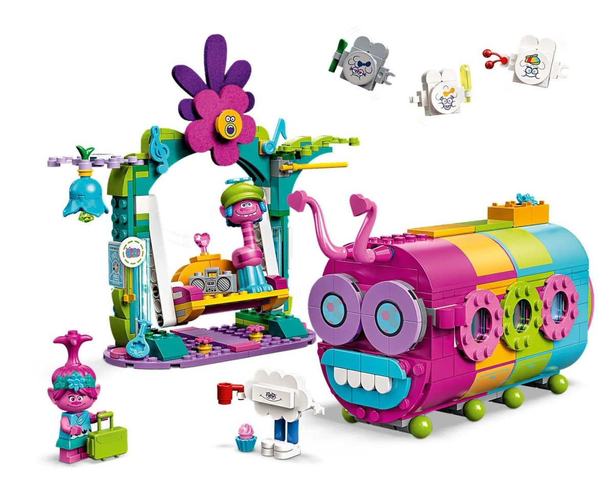 41256-lego-trolls-rainbow-caterbus-inhalt-2020 zusammengebaut.com