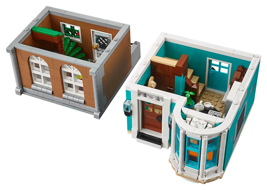 lego-creator-expert-10270-buchladen-bookshop-modular-building-erste-etage-2020-zusammengebaut zusamengebaut.com