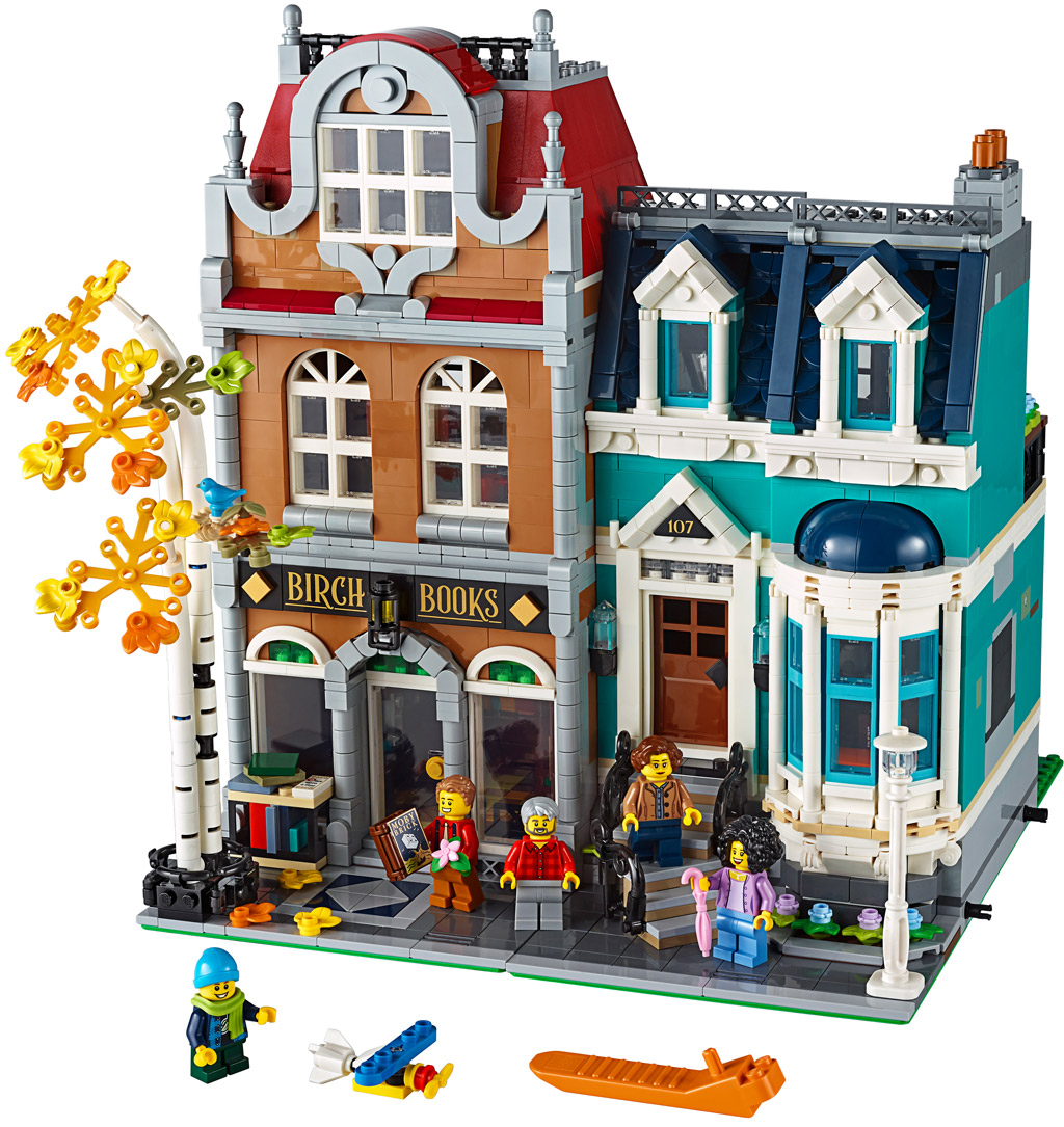 lego-creator-expert-10270-buchladen-bookshop-modular-building-inhalt-2020-zusammengebaut zusammengebaut.com