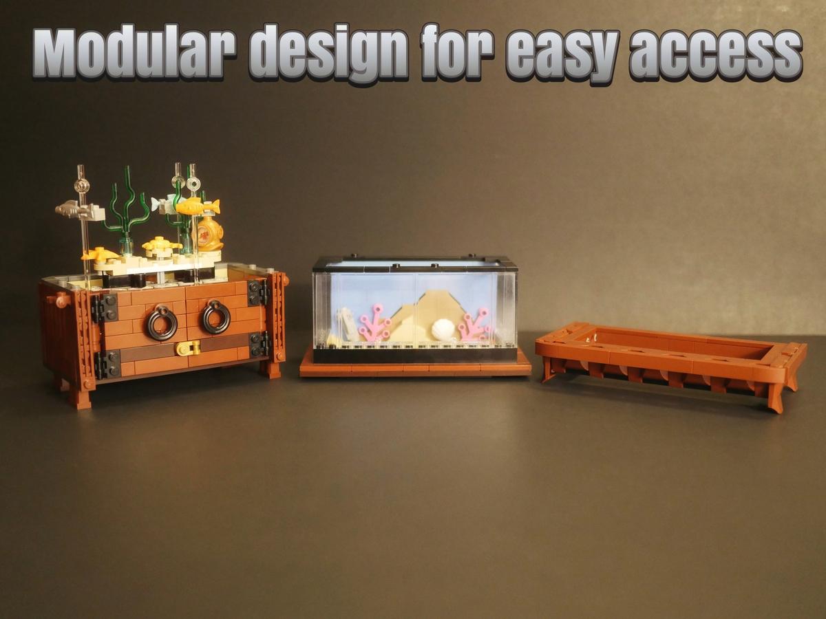 lego-ideas-clockwork-aquarium-inhalt-mjsmiley zusammengebaut.com