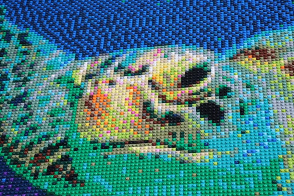 lego-mosaik-meeresschildkroete-nahansicht-zusammengebaut-2019-andres-lehmann zusammengebaut.com