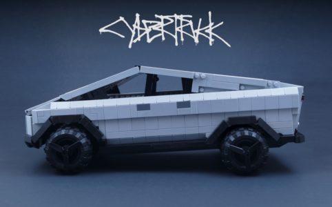 lego-ideas-tesla-cybertruck-brickinnick zusammengebaut.com