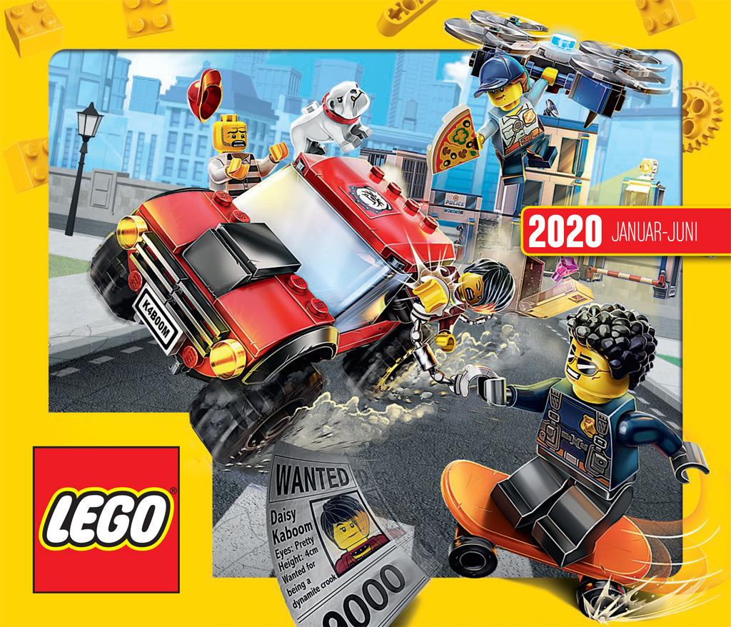 Lego®  Katalog  2020 Januar bis Juni Neu